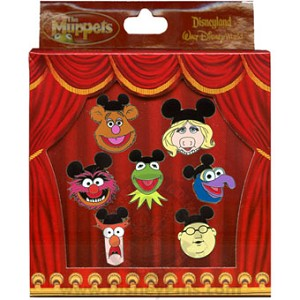 Disney Boxed Mini Pin Set - Muppets with Mouse Ears