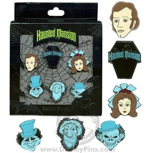 Disney Boxed Pin Set - The Haunted Mansion