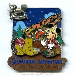 Disney Dave Smith Pin - Disney's California Adventure Park