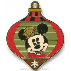 Disney Surprise Pin - Holiday Ornament - Minnie