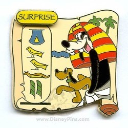 Disney Surprise Pin - Cartouche Collection - Goofy