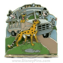 Disney 3D Series Pin - Kilimanjaro Safaris® Expedition