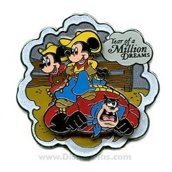 Disney Year of a Million Dreams Pin - Mickey, Minnie and Pete