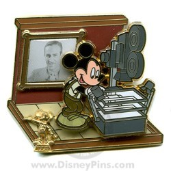 Disney Award Winning Performances Pin - The Multi-Plane Camera