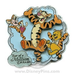 Disney Year of a Million Dreams Pin - Tigger