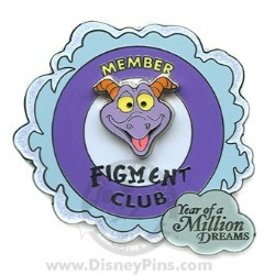 Disney Year of a Million Dreams Pin - Figment