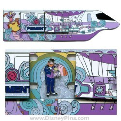 Disney Magical Monorail Jumbo Pin - Figment