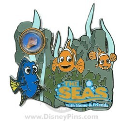 Disney Piece of Disney History III Pin - The Seas with Nemo & Friends