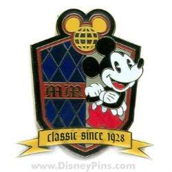 Disney Character Crest Pin - Mickey Mouse