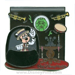 Disney The Scoop! Pin - The Haunted Mansion