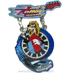 Disney Featured Attraction Collection Pin - Rock 'n Roller Coaster