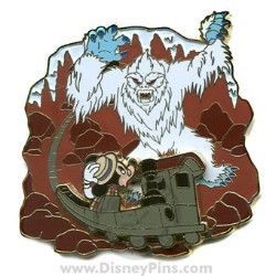 Disney The Scoop! Pin - Expedition Everest