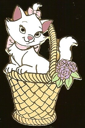 Disney Auctions Pin - Marie in Basket