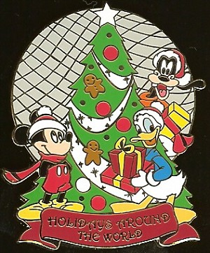 Disney Auctions Pin - Epcot - Holidays Around the World
