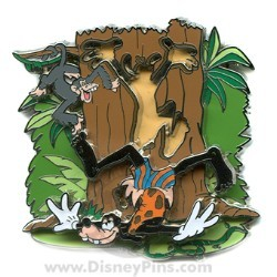 Disney Where Dreams HapPin Pin - Goofy of the Jungle