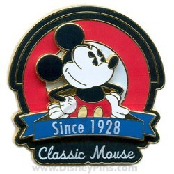 Disney Gold Card Pin - Character Tag Line - Mickey Mouse