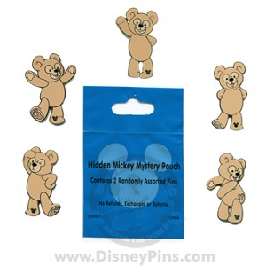 Disney Hidden Mickey Pin - Disney Bears - 2 Random