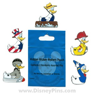 Disney Hidden Mickey Pin - Rubber Ducks - 2 Random