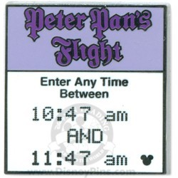 Disney Hidden Mickey Completer Pin - Peter Pan's Flight FastPass