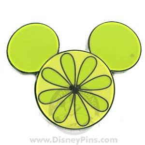 Disney Hidden Mickey Pin - Fruit - Lime