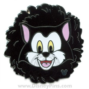 Disney Hidden Mickey Pin - Cat Toy - Figaro