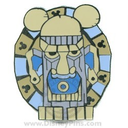 Disney Hidden Mickey Pin - Tiki with Big Ears