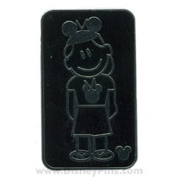 Disney Hidden Mickey Pin - Family - Daughter with Mouse Ears