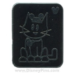 Disney Hidden Mickey Pin - Pets - Cat with Mouse Ears