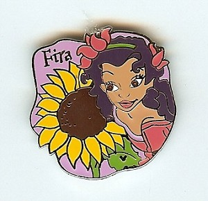 Disney Hidden Mickey Pin - Fairy Collection - Fira