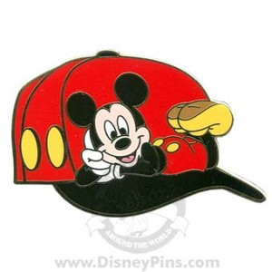 Disney Marquee Pin - Baseball Cap - Mickey Mouse