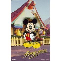 Disney Mystery Pin & Card - Signature - Mickey Mouse
