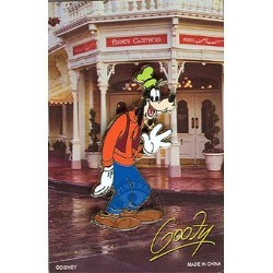 Disney Mystery Pin & Card - Signature - Goofy