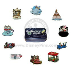 Disney Mystery Tin - 35 Magical Years - 10 PIN SET COMPLETE