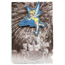 Disney Mystery Pin & Card - Dreams Slogans - Tinker Bell