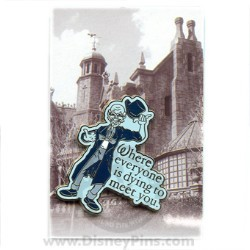 Disney Mystery Pin & Card - Dreams Slogans - Ghost
