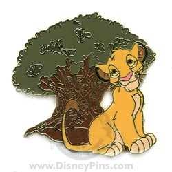 Disney Mystery Tin Pin - In the Parks - Simba