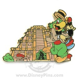 Disney Mystery Tin Pin - In the Parks - Jose Carioca