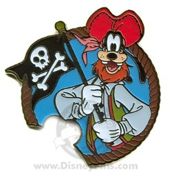 Disney Mystery Machine Pin - Pirates - Goofy