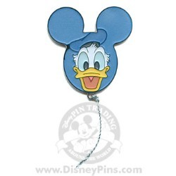 Disney Mystery Pin - Character Balloons - Donald Duck