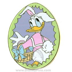 Disney Mystery Pin - Easter 2008 - Donald Duck