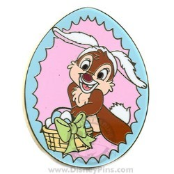 Disney Mystery Pin - Easter 2008 - Dale