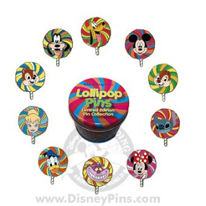 Disney Mystery Tin - Lollipop - 4 Random