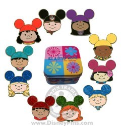 Disney Mystery Tin - it's a small world Kids - 4 Random Pins
