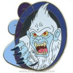 Disney Mystery Pin - Swirls - Yeti