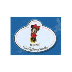 Disney Mystery Tin Pin - Nametags - Minnie Mouse Name Tag