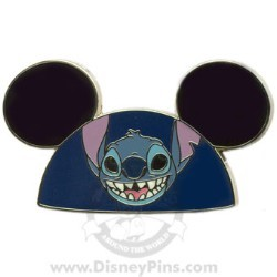 Disney Mystery Pin - Character Ear Hats - Stitch Ears