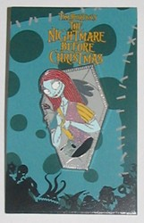 Disney Mystery Pin & Card - Nightmare Before Christmas - Sally