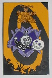 Disney Mystery Pin & Card - Nightmare Before Christmas - Barrel