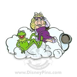 Disney Mystery Pin & Card - Dreams Clouds - Muppets