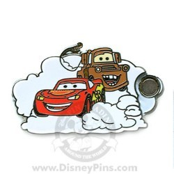 Disney Mystery Pin & Card - Dreams Clouds - Cars